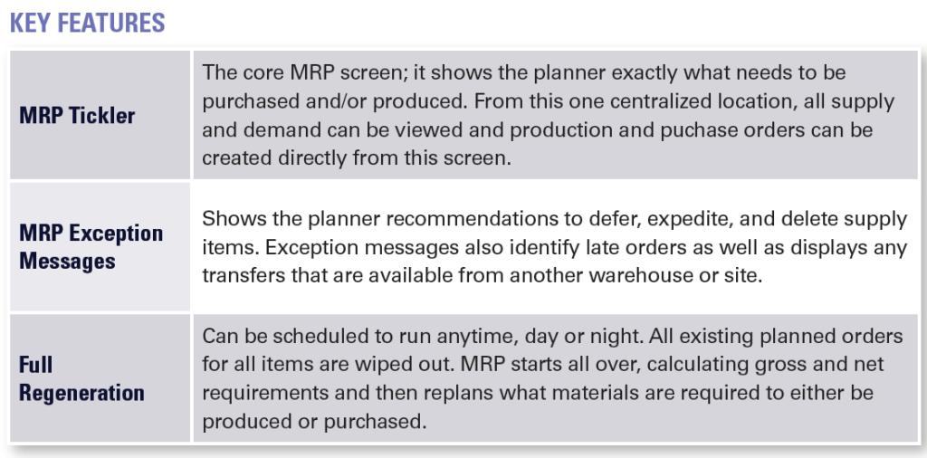 MRP Essentials